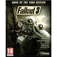 Fallout 3 Game Of The Year Edition - PC DIGITAL - PC játék