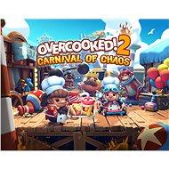 Overcooked! 2 - Carnival of Chaos - PC DIGITAL - Játék kiegészítő