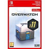 Overwatch 11 Loot Boxes - Nintendo Switch Digital - Játék kiegészítő
