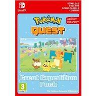 Pokémon Quest - Great Expedition Pack - Nintendo Switch Digital - Játék kiegészítő
