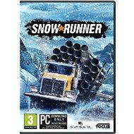 Snowrunner - PC DIGITAL - PC játék