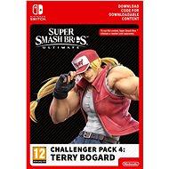 Super Smash Bros. Ultimate: Terry Bogard Challenger Pack 4 - Nintendo Switch Digital - Játék kiegészítő