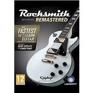 Rocksmith 2014 Edition - Remastered - PC DIGITAL - PC játék