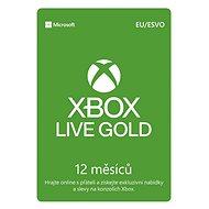 Xbox Live Gold - 12 hónapos előfizetés - Feltöltőkártya