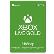 Xbox Live Gold - 3 hónapos tagság - Feltöltőkártya