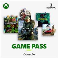 Xbox Game Pass - 3 hónapos előfizetés - Feltöltőkártya