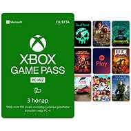 Xbox Game Pass - 3 hónapos előfizetés (Windows 10-es PC-hez) - Feltöltőkártya