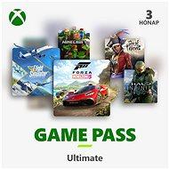 Xbox Game Pass Ultimate - 3 hónapos előfizetés - Feltöltőkártya
