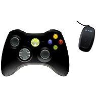 Microsoft Xbox 360 Wireless Controller fekete - Játékvezérlő