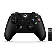 Xbox One Wireless Controller + vezeték nélküli adapter Windows 10-hez - Játékvezérlő