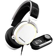 SteelSeries Arctis Pro + GameDAC White - Gamer fejhallgató