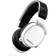 SteelSeries Arctis Pro Wireless White - Gamer fejhallgató