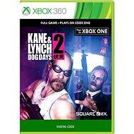 Kane & Lynch 2 - Xbox 360 Digital - Konzol játék