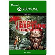 """Dead Island Riptide """"Definitive Edition"""" - Xbox One DIGITAL"""