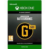 PLAYERUNKNOWN'S BATTLEGROUNDS 500 G-Coin  - Xbox Digital - Játék kiegészítő