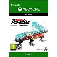 Burnout Paradise Remastered - Xbox Digital
