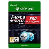 UFC 3: 500 UFC Points - Xbox Digital - Játék kiegészítő