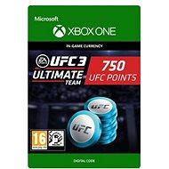 UFC 3: 750 UFC Points - Xbox Digital - Játék kiegészítő