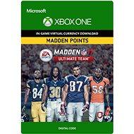 Madden NFL 17: MUT 500 Madden Points Pack - Xbox Digital - Játék kiegészítő