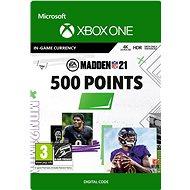 Madden NFL 21: 500 Madden Points - Xbox Digital - Játék kiegészítő