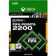 FIFA 21 ULTIMATE TEAM 2200 POINTS - Xbox Digital - Játék kiegészítő