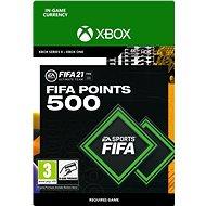 FIFA 21 ULTIMATE TEAM 500 POINTS - Xbox One Digital - Játék kiegészítő
