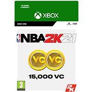 NBA 2K21: 15,000 VC - Xbox Digital - Játék kiegészítő