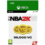 NBA 2K21: 35,000 VC - Xbox Digital - Játék kiegészítő