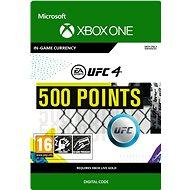 UFC 4: 500 UFC Points - Xbox Digital - Játék kiegészítő