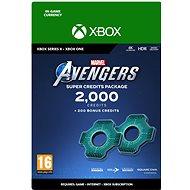 Marvels Avengers: 2,200 Credits Package - Xbox One Digital - Játék kiegészítő
