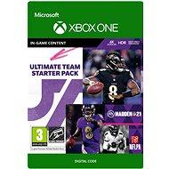 Madden NFL 21: MUT Starter Pack - Xbox Digital - Játék kiegészítő