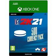 PGA Tour 2K21: 500 Currency Pack - Xbox Digital - Játék kiegészítő