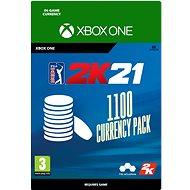 PGA Tour 2K21: 1100 Currency Pack - Xbox Digital - Játék kiegészítő