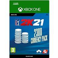 PGA Tour 2K21: 2300 Currency Pack - Xbox Digital - Játék kiegészítő