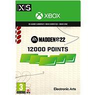 Madden NFL 22: 12000 Madden Points - Xbox Digital - Játék kiegészítő