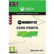 Madden NFL 22: 2200 Madden Points - Xbox Digital - Játék kiegészítő