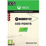 Madden NFL 22: 500 Madden Points - Xbox Digital - Játék kiegészítő