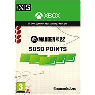 Madden NFL 22: 5850 Madden Points - Xbox Digital - Játék kiegészítő