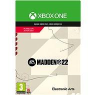 Madden NFL 22: Standard Edition (előrendelés) - Xbox One Digital - Konzol játék