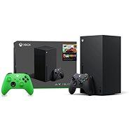Xbox Series X + 2x Xbox Wireless Controller - Konzol