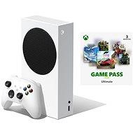 Konzol Xbox Series S + Xbox Game Pass Ultimate - 3 hónapos előfizetés