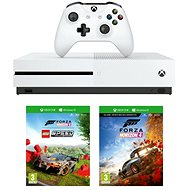 Xbox One S 1TB + Lego Forza Horizon 4 Bundle - Konzol