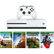 Xbox One S 1TB + Lego Forza Horizon 4 + Gears 5 + Minecraft - Konzol