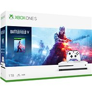 Xbox One S 1TB + Battlefield V - Játékkonzol