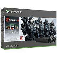 Xbox One X + Gears 5 - Játékkonzol