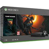 Xbox One X + Shadow of The Tomb Raider - Játékkonzol