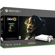 Xbox One X + Fallout 76 Robot White Special Edition - Játékkonzol