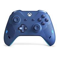 Xbox One Wireless Controller Sport Blue - Játékvezérlő