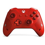 Xbox One vezeték nélküli kontroller Sport Red speciális kiadás - Játékvezérlő