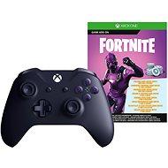 Xbox One Wireless Controller Purple + Fortnite DLC - Játékvezérlő